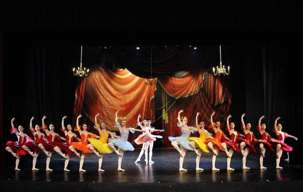 """Fotografie de la premiera spectacolului """"Paquita"""" - februarie 2011."""