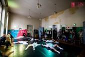 Simțuri - spectacol expoziție, premieră absolută de dans contemporan (fotografie din cadrul coregrafiei Olfactiv, realizată de Myrna Squire)